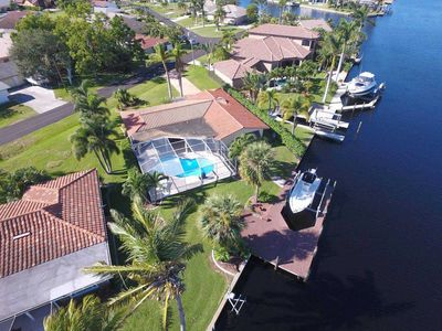 Photo for 27% OFF! -SWFL Rentals - Villa Linda - Spacious Gulf Access Pool Home Sleeps 6