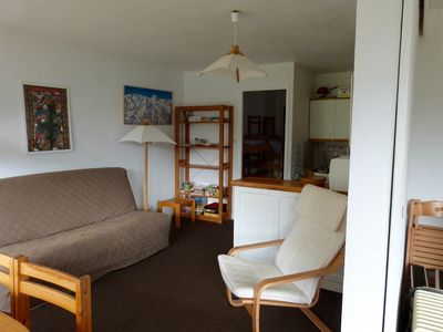 Photo for Bright apartment in the heart of Pra-loup