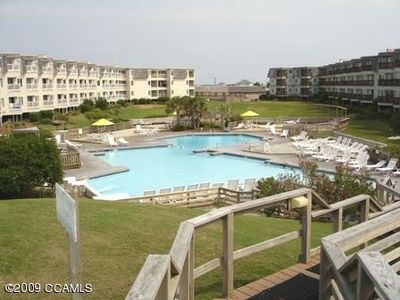Photo for Beach Front Resort w/ 150' Water slide, Free Mini Golf, Indoor Pool, Tennis,more