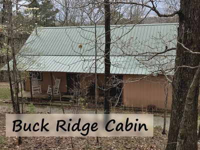 Photo for Buck Ridge Cabin, Secluded Cabin near Eureka Springs, New Deck, Large Grill, Amazing Cabin Decor