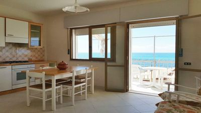 Photo for Wonderful Apartment ON THE BEACH