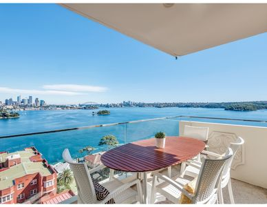 Photo for Panoramic harbour views and unbeatable comfort