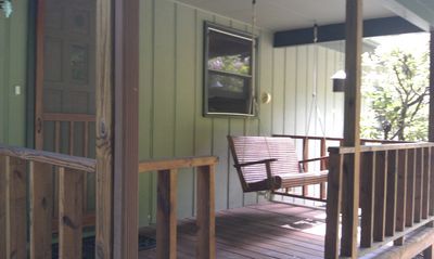 Photo for Clean, Comfortable Cabin on Rushing Creek w/ Private Swim Pond
