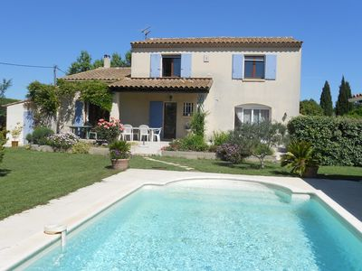 Photo for Nice Provencal villa in a quiet area with pool and large garden