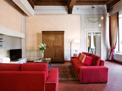 Photo for Orsucci Gorgeous romantic Apt in Lucca historical center FREE WIFI ,AIR C