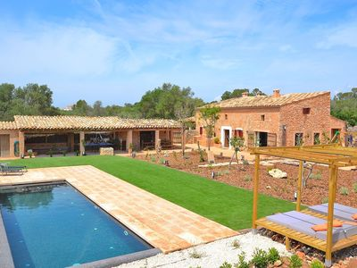 Photo for Can Cortana rustic villa with pool in a quiet area 005