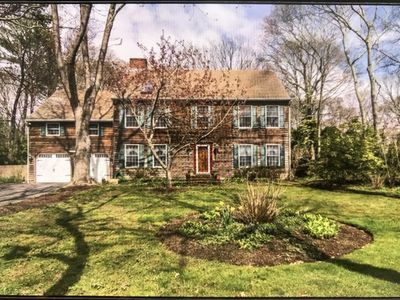 Photo for Hamptons Cousy, Spacious, Family Home by the beach