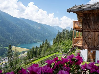 """Photo for Charming """"Panorama Apartment Raffeinhof"""" with Mountain View, Lake View, Wi-Fi, Balcony, Terrace & Garden; Parking Available"""