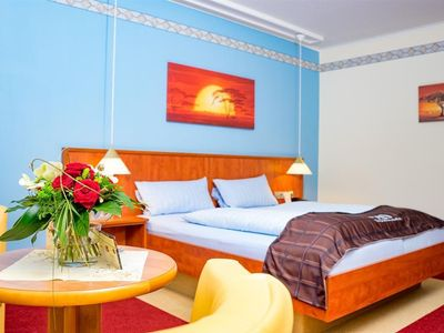"""Photo for Double Room """"Praline"""" - Chocolate Hotel Voss"""