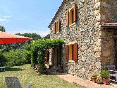 Photo for Vacation home Podere Gabruccino (RIP420) in Riparbella - 6 persons, 3 bedrooms