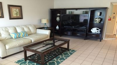 Photo for Condo in entertainment area and 1/2 block from beach