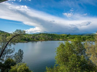 Photo for Lake Front Home! Panoramic Views of Lake Tulloch & Private Dock