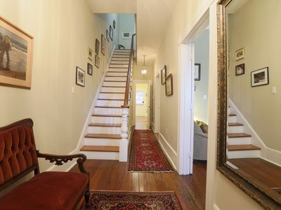 Step into this beautiful, historic townhouse.
