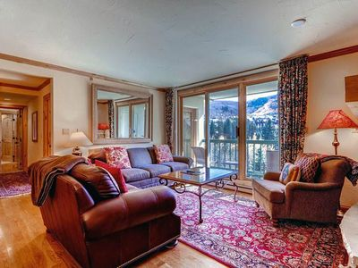 Photo for Beautiful bright condo with hardwoods throughout with terrific views of Beaver Creek