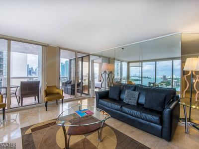 Downtown Miami 2757 | Premium 2BR Waterfront Condo | Free Valet Parking