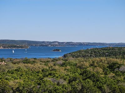 Photo for Hollows Resort Largest 3bed/3bath Villa Over Looking Beautiful Lake Travis!