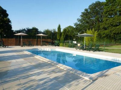 Photo for 3 gites, heated pool and tennis