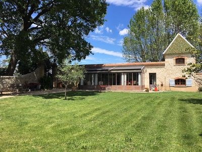 Photo for Superb outbuilding 136 m2 in prestigious property with pool