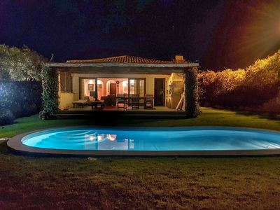 Photo for Sea view villa with swimming pool