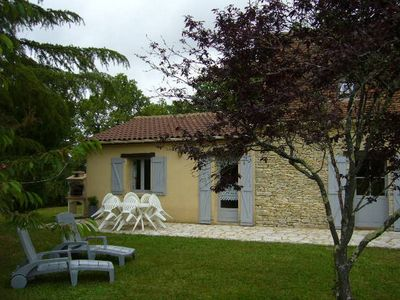 Photo for Self-catered Gite located in a hamlet, 1km from the village, pleasant location