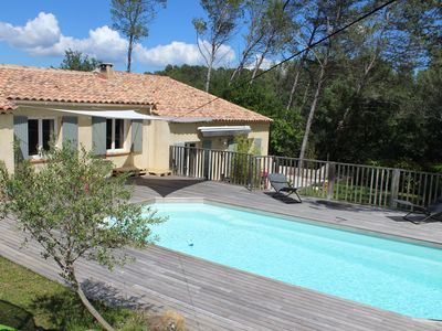 Photo for House 15 min from Aix-en-Provence to Peynier in a pine forest