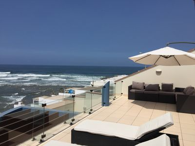 Photo for Oceanfront Beach House  in Punta Hermosa - Lima -Whole House , 2 levels , swpool