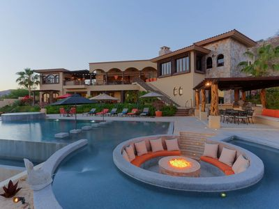 Photo for Spectacular 7 BR Casa Entre Suenos w/ WiFi, A/C, Infinity Pool, Fire Pit + More!