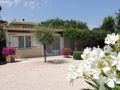 Photo for Cottage with private pool on the Mazet Navacelles Cammas / South of France