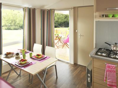 Photo for Camping Fort Espagnol **** - Mobil Home 4 Rooms 6 People