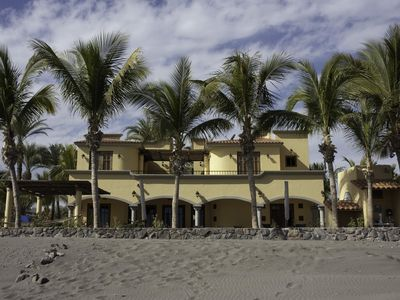Photo for Escape To An Ocean Front Five Star Paradise : A 10 minute walk into Loreto