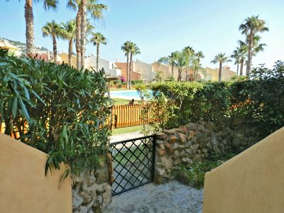 Photo for EXCLUSIVE CHALET WITH SEA TO A MINUTE OF THE BEACH AND OFF THE POOL