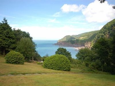 Photo for Holiday home with uninterrupted sea views and shared swimming pool