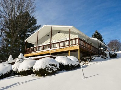 Photo for NEW! Lakefront Erieville Home-Near Colgate College