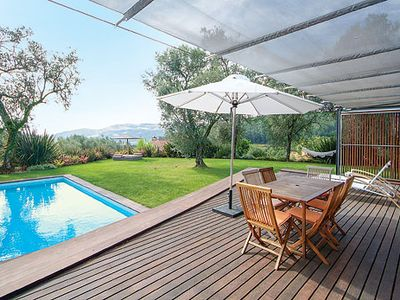 Photo for Family villa w/ heated pool, BBQ, table tennis, PlayStation 1 & Wi-Fi