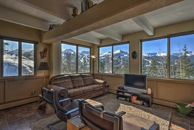 An unforgettable mountain retreat awaits you at this Breckenridge condo.