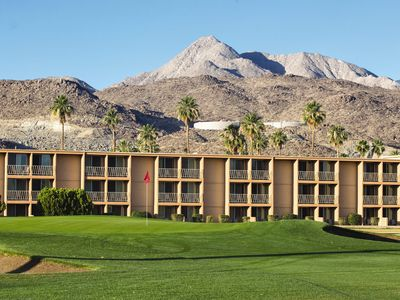 Photo for Palm Springs, CA: 1BR Condo, Pet-Friendly Resort w/Pool, Golf, Near Attractions