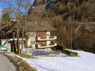 Photo for Apartment 1.1 km from the center of Grächen with Parking, Internet, Balcony (49599)