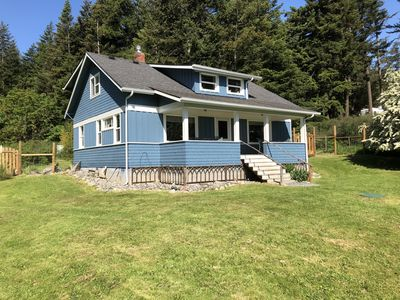 Photo for Orcas 6 BR/3BA Craftsman Beach House *4 KAYAKS* *Mooring Buoy*