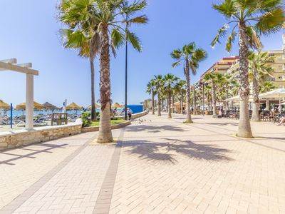 Photo for Cubo's Apartamento el Rancho. Apartment on the seafront of Fuengirola, wifi.