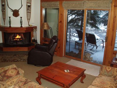 Photo for A Great Vail Value II: Townhome w/ Gorgeous Views On Gore Creek, Free Bus, Wi-Fi