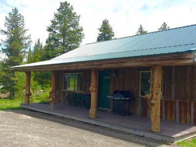 Photo for Creekside Cabin  - New 2 Bedroom 1 Bath, 10 Minutes to Yellowstone