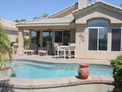 Photo for Serenity of The Desert-5 Star NEWLY REMODELED Luxury Retreat!!!