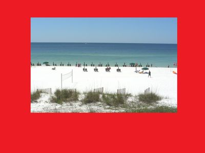 Photo for SunDestin Condo 304: Best View, Platinum Condo, Over Pool & On The Beach!