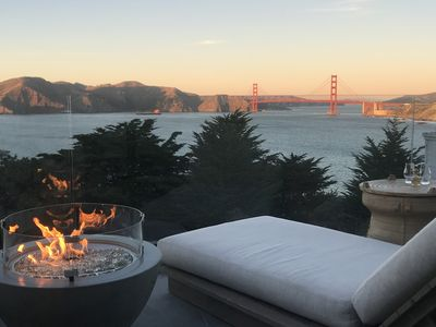 Photo for THE RETREAT : SF ... Sea Cliff, San Francisco - Dreamy Golden Gate & City Views!