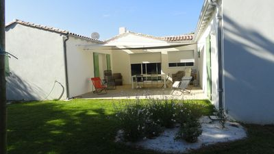 Photo for Beautiful new house 200m from the beach of Conche Promotion 21. 07-28. 07