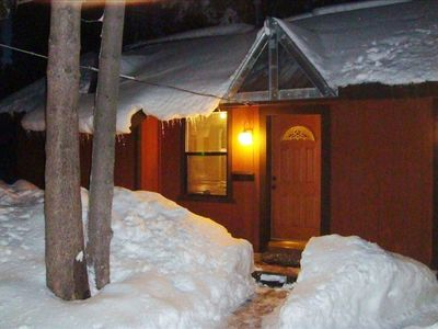 Photo for Lake Tahoe Guest Cabin on West Shore 1bd/1bth,  Biking, Hiking, Skiing, Sledding