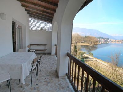 Photo for Apartment Lungolago in Lavena Ponte Tresa - 5 persons, 2 bedrooms