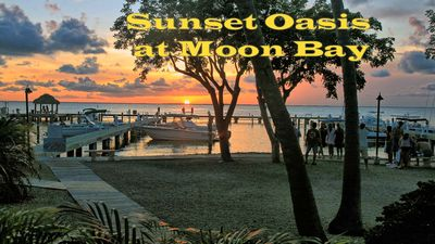 Photo for Sunset Oasis at Moon Bay-perfect townhouse location, bay view