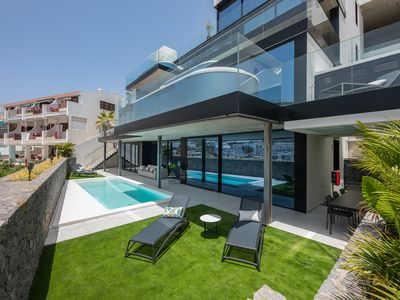 Photo for Luxury apartment with  private garden and swimming pool