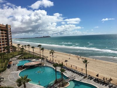 Photo for SW 606 Lovely 2 Bedroom 2 Bathroom Ocean Front unit at the Sonoran Sun